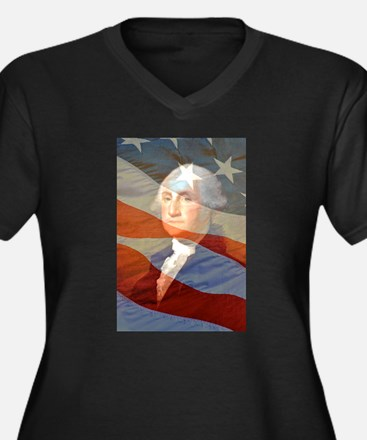 Life, liberty and the.... Women's Plus Size V-Neck