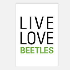 Live Love Beetles Postcards (Package of 8)