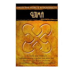 Kwanzaa Principles: Ujima Postcards (Package of 8)