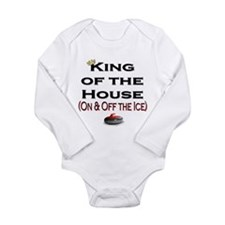King of the House2 Long Sleeve Infant Bodysuit