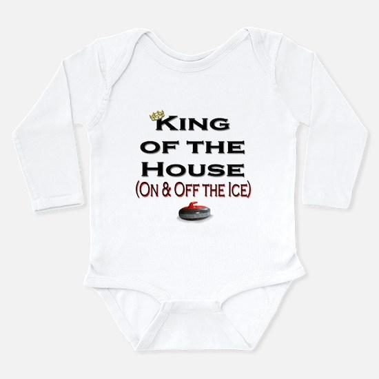 King of the House2 Long Sleeve Infant Bodysuit