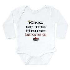 King of the House Long Sleeve Infant Bodysuit