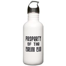 Property of the Curling Club Water Bottle