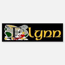 Flynn Celtic Dragon Bumper Bumper Bumper Sticker