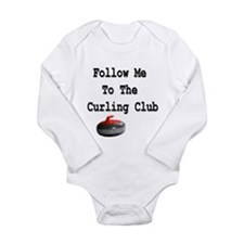 Follow Me to the Curling Club Long Sleeve Infant B