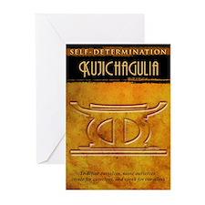 Kwanzaa Principles: Kujichagulia Greeting Cards (P