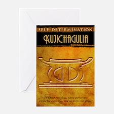 Kwanzaa Principles: Kujichagulia Greeting Card