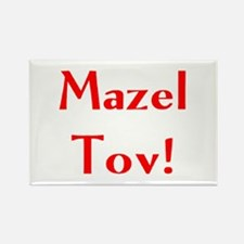 mazel tov Rectangle Magnet