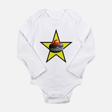 Rock Star Long Sleeve Infant Bodysuit