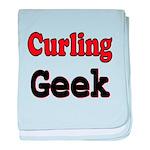 Curling Geek baby blanket