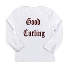 Good Curling Long Sleeve Infant T-Shirt
