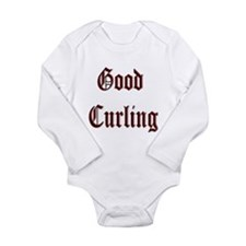 Good Curling Long Sleeve Infant Bodysuit