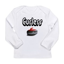 Curlers Rock Long Sleeve Infant T-Shirt