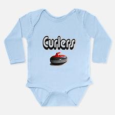 Curlers Rock Long Sleeve Infant Bodysuit