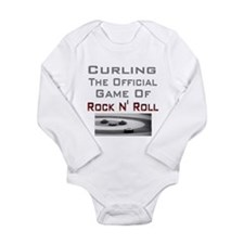 Curling-The Official Game Of Long Sleeve Infant Bo
