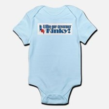 Kinky for Governor Infant Creeper