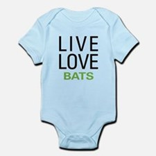 Live Love Bats Infant Bodysuit