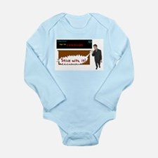 Cute Air marshal Long Sleeve Infant Bodysuit