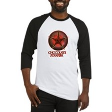 Chocolate Starfish Baseball Jersey