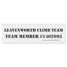 Leavenworth Climb Team Bumper Sticker