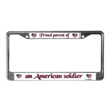 Proud Parent 1 License Plate Frame