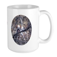 Pointer in the Bushes Mug