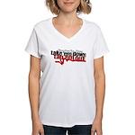 Take em down Tap em out Women's V-Neck T-Shirt