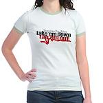 Take em down Tap em out Jr. Ringer T-Shirt