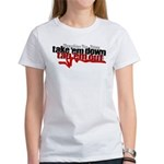 Take em down Tap em out Women's T-Shirt