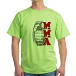 MMA Grenade Green T-Shirt