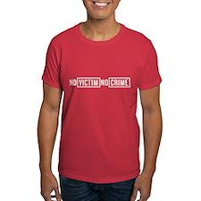 No Victim No Crime T-Shirt