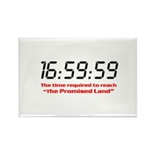 """16:59:59"" Rectangle Magnet (10 pack)"