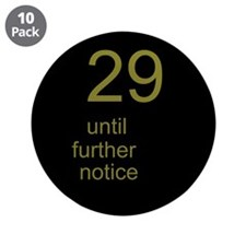 """30th Birthday 3.5"""" Button (10 pack)"""