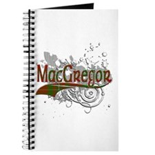 MacGregor Tartan Grunge Journal