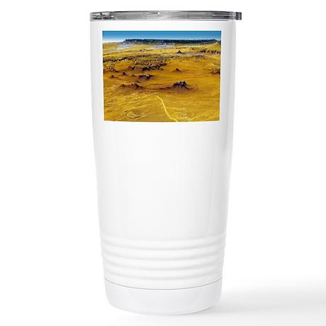 Aerial Monument Valley Stainless Steel Travel Mug