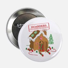 """Holiday Hoarders"" 2.25"" Button (10"