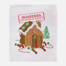 """""""Holiday Hoarders"""" Throw Blanket"""
