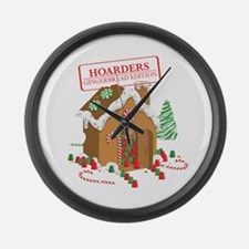 """""""Holiday Hoarders"""" Large Wall Clock"""