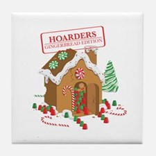 """""""Holiday Hoarders"""" Tile Coaster"""