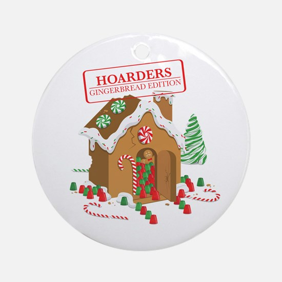 """Holiday Hoarders"" Ornament (Round)"