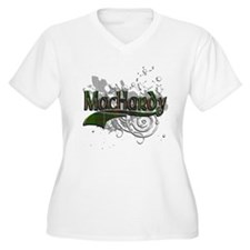 MacHardy Tartan Grunge T-Shirt
