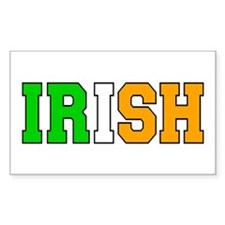 IRISH Rectangle Decal