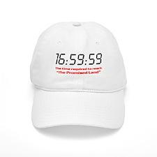 """16:59:59"" Baseball Baseball Cap"