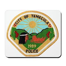 Temecula Police Mousepad