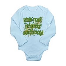 Festive Irish Birthday Long Sleeve Infant Bodysuit