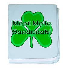 Meet Me In Savannah baby blanket