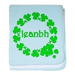 Leanbh Irish Word for Baby baby blanket