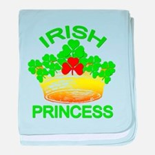 Cute Irish princess baby blanket