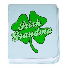 Irish Grandma baby blanket