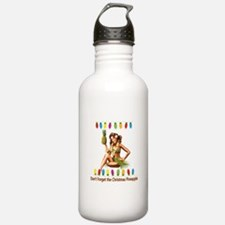 Christmas Pineapple Water Bottle